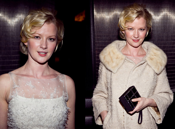 Hair and Makeup by Kathy Aragon for Gretchen Mol / Image courtesy of WireImage